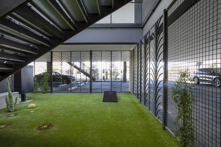 Grassed Courtyard